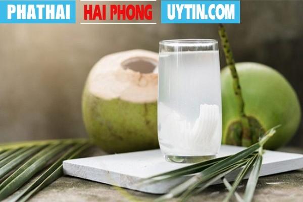 Nước dừa không tác dụng phá thai