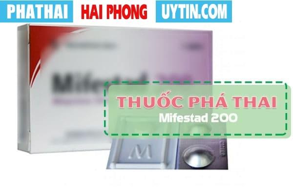 Tìm hiểu về thuốc phá thai mifestad 200