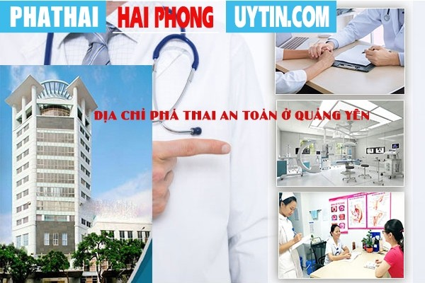 Địa chỉ phá thai an toàn ở Quảng Yên