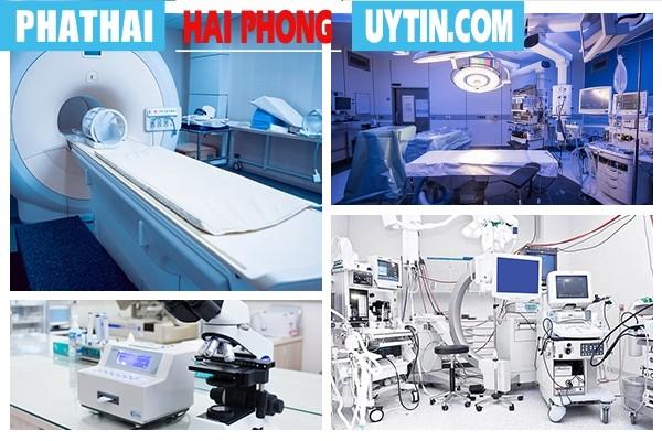 Tại Phòng Khám Hồng Phát có đầy đủ trang thiết bị y tế hiện đại