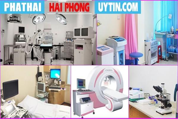 Tại Phòng Khám Hồng Phát có hệ thống trang thiết bị máy móc y tế hiện đại