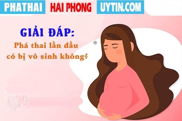 Giải đáp: Phá thai lần đầu có bị vô sinh không?