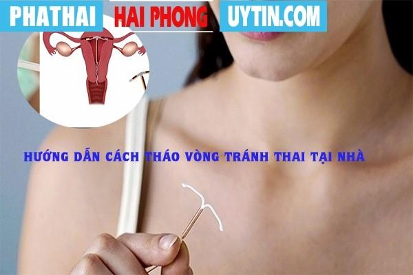 Hướng dẫn cách tháo vòng tránh thai tại nhà