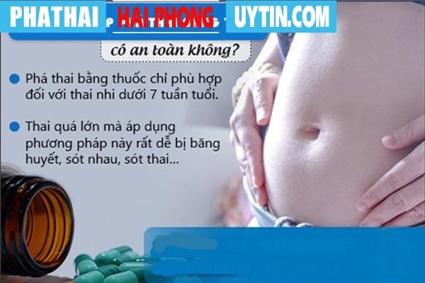 Phương pháp phá thai bằng thuốc có an toàn không?