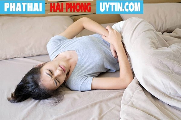 Đau bụng dữ dội và kéo dài trong nhiều ngày liền là dấu hiệu sót thai